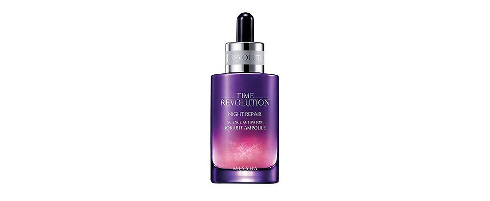 Missha Time Revolution Night Repair Science Activator Borabit Ampoule