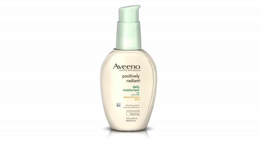Aveeno Positively Radiant Daily Moisturiser