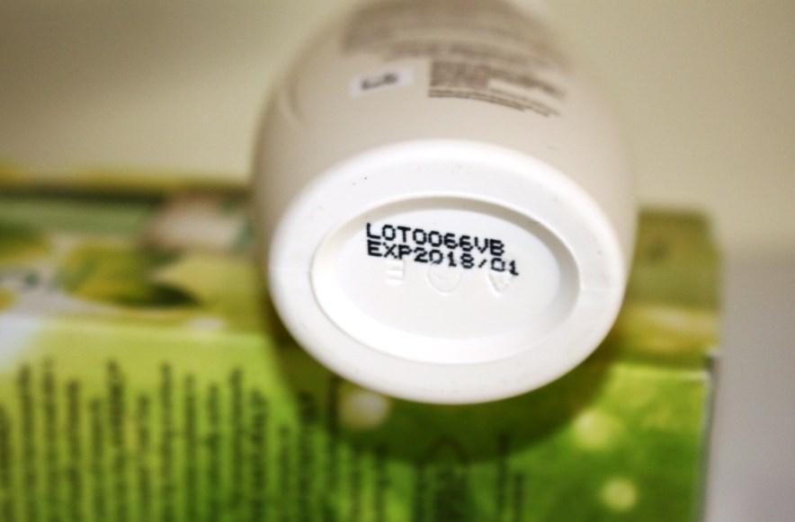 Aveeno Positively Radiant Daily Moisturiser Expiry