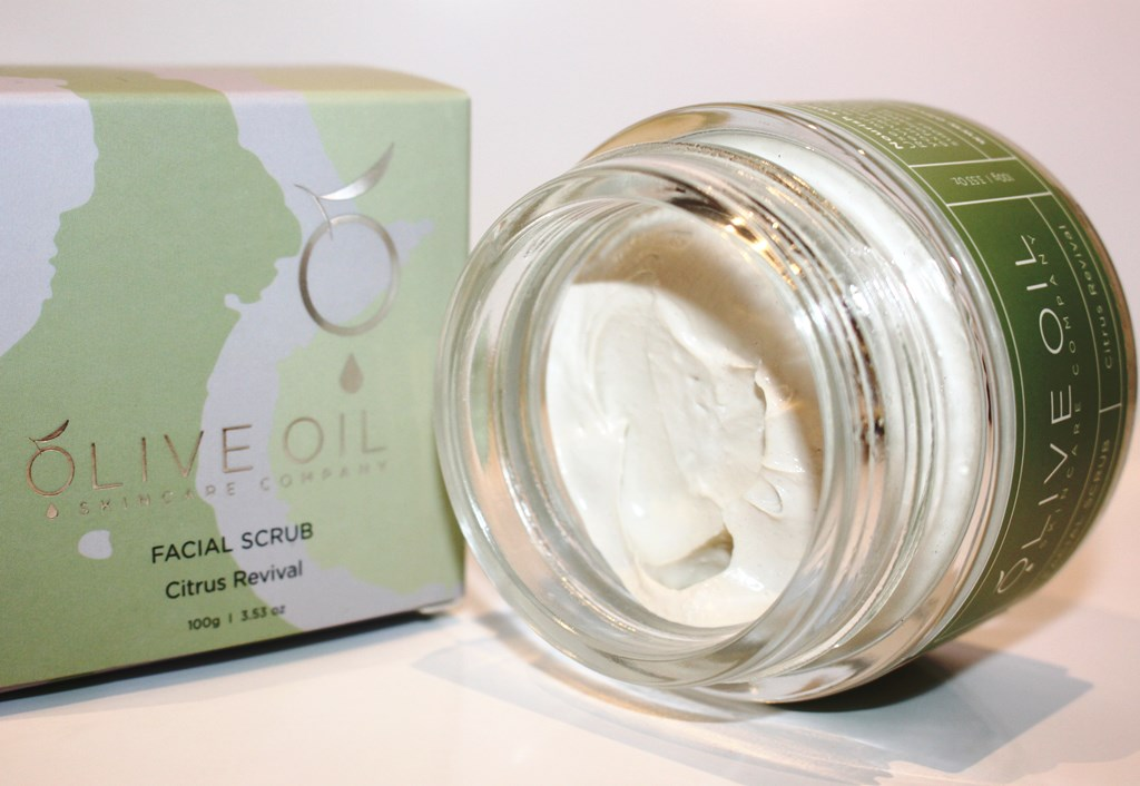 Olive Oil Skincare Company Facial Scrub ingredient list