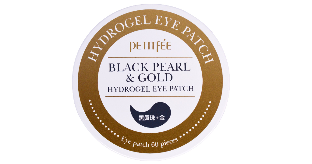 Petitfee Black Pearl & Gold Hydrogel Eye Patch