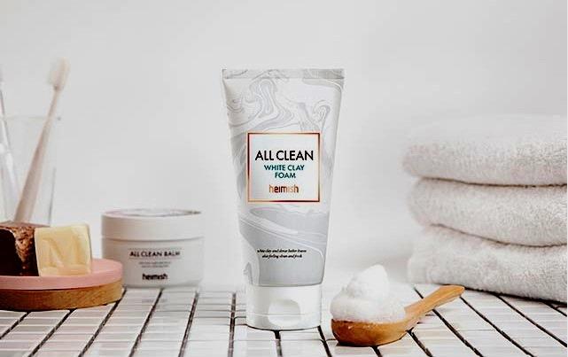 Heimish All Clean White Clay Foam - Image Credit Heimish