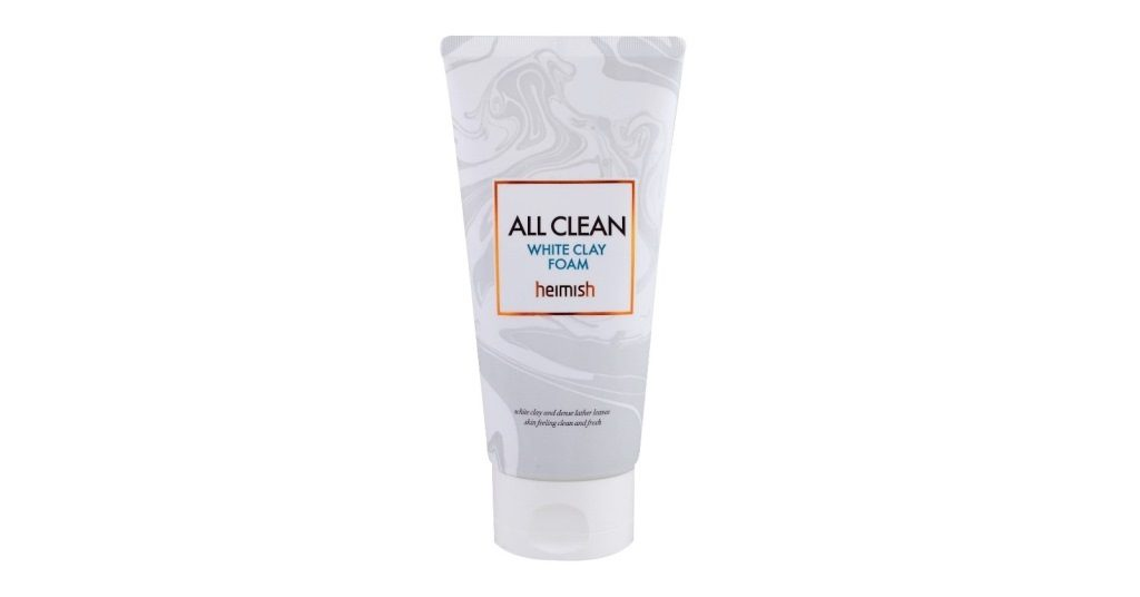 Heimish white clay foam