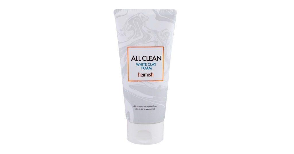 Heimish white clay foam
