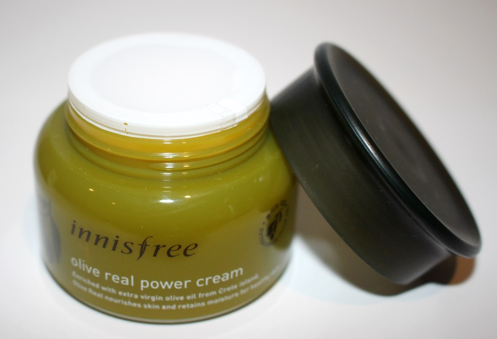 Innisfree Olive Real Power Cream Packaging