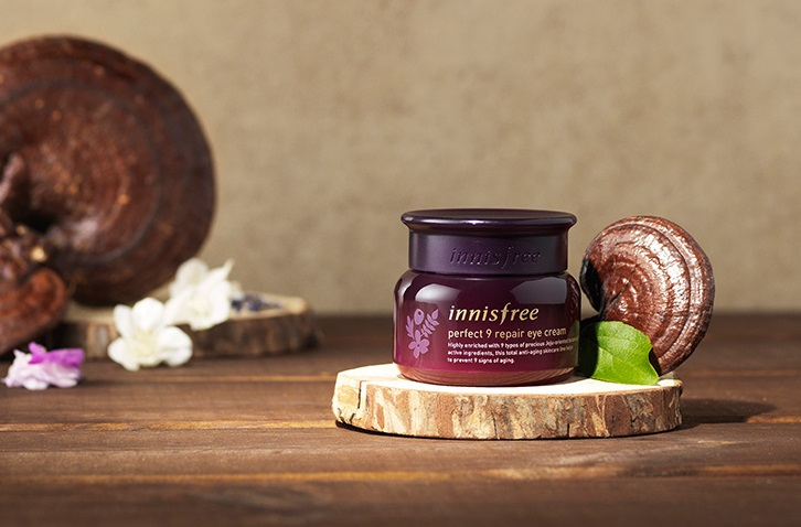 Innisfree Perfect 9 Repair Eye Cream; Image Credit: Innisfree