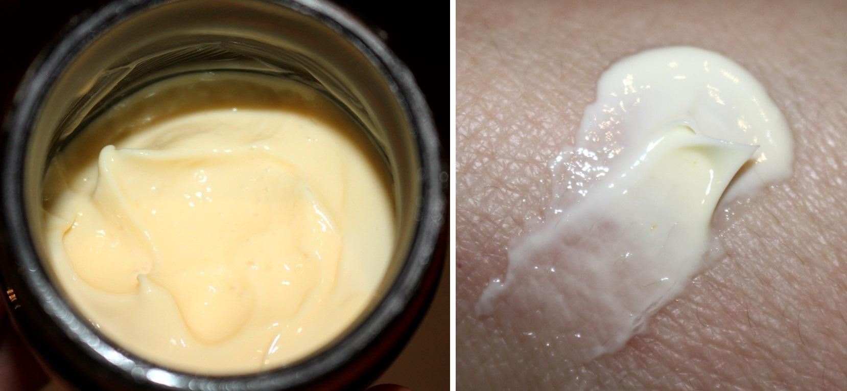 Swisse CoQ10 moisturiser texture