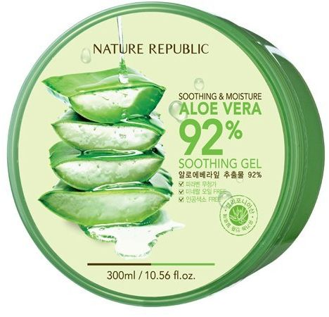 Nature Republic Aloe Vera Foam Cleanser texture