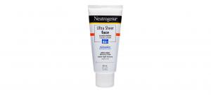 Neutrogena ultra sheer face sunscreen SPF 50+