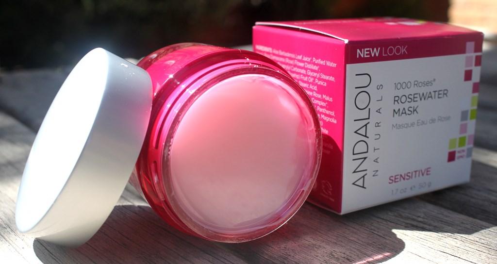 Andalou Naturals Rosewater Mask Packaging