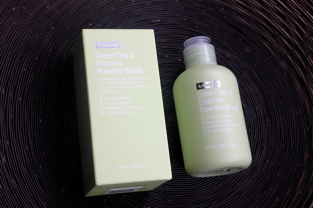 ByWishtrend Green Tea & Enzyme Powder Wash