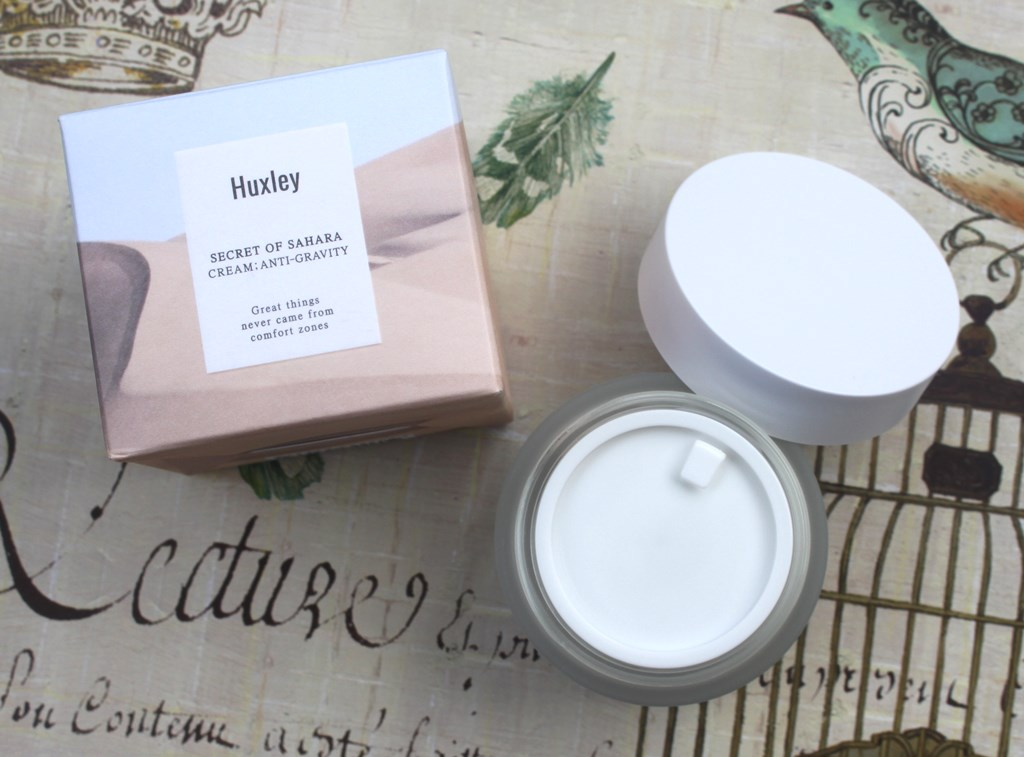 Huxley Anti-Gravity Cream Packaging