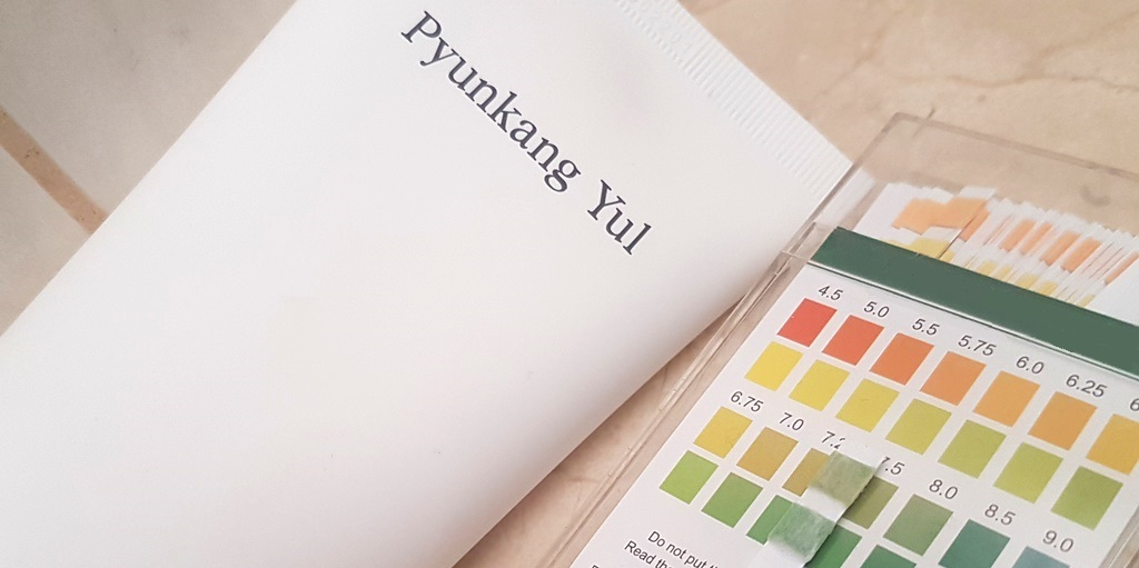Pyunkang Yul Cleansing Foam pH Measure