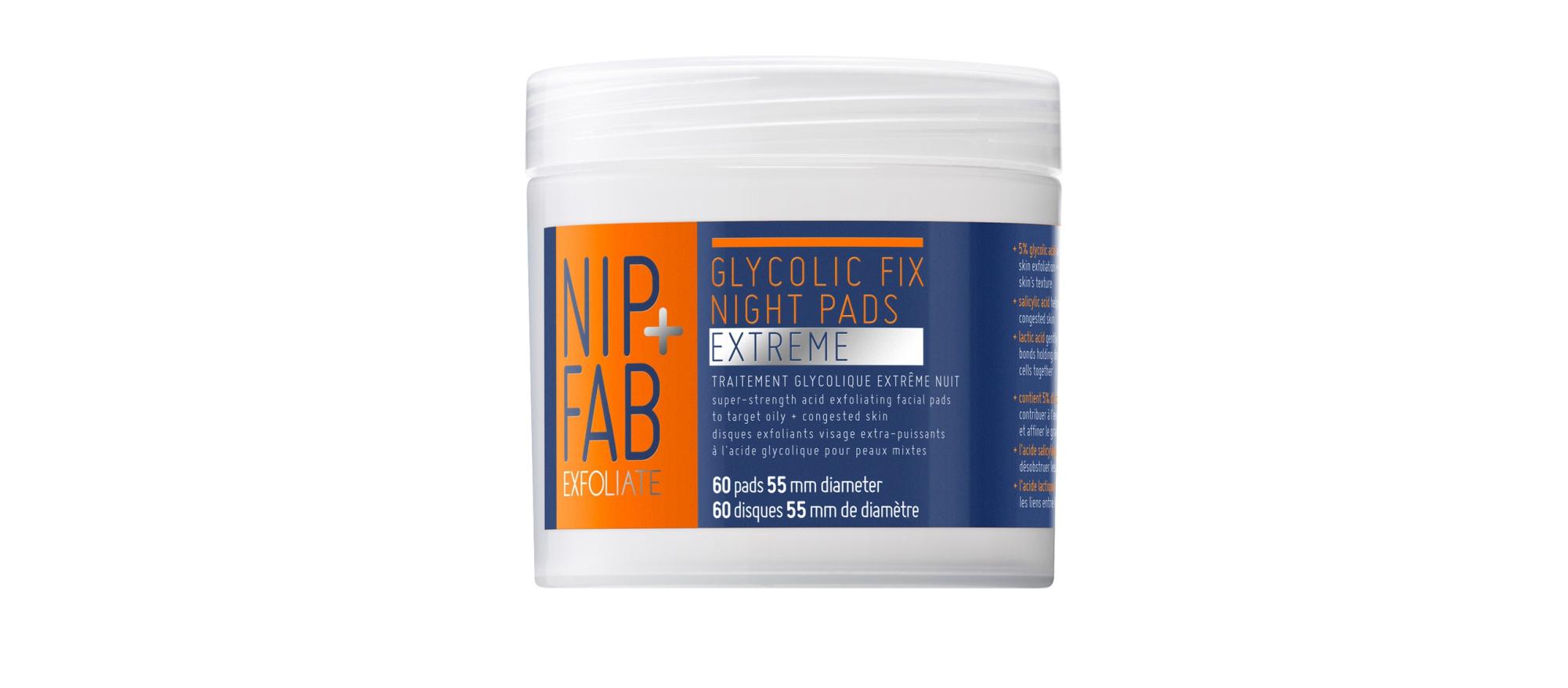 Nip+Fab Glycolic Fix Night Pads