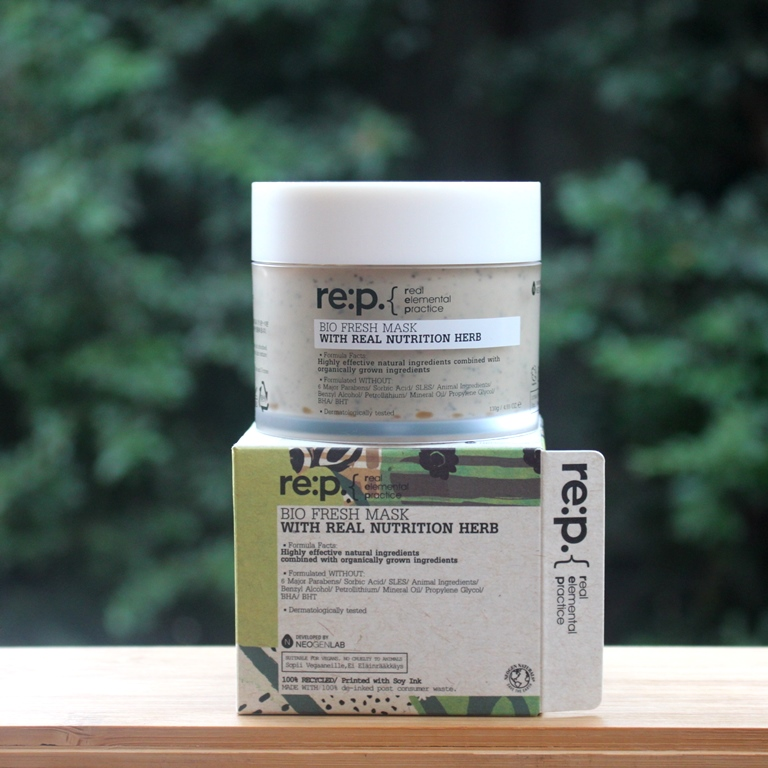 re:p Bio Fresh Mask With Real Nutrition Herbs