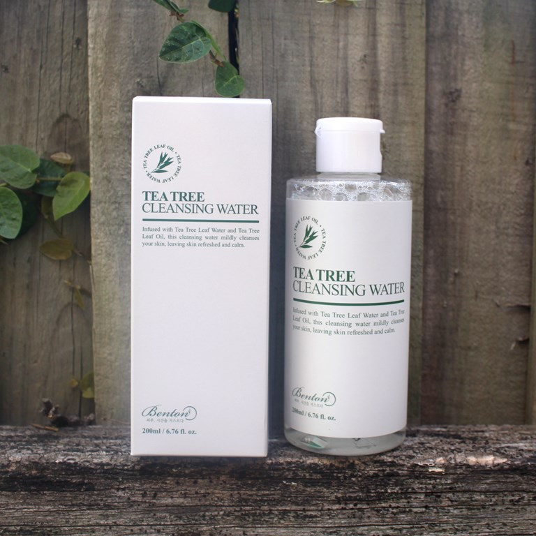 Style Korean Glowing Clover Set -Benton Tea Tree Cleansing Water
