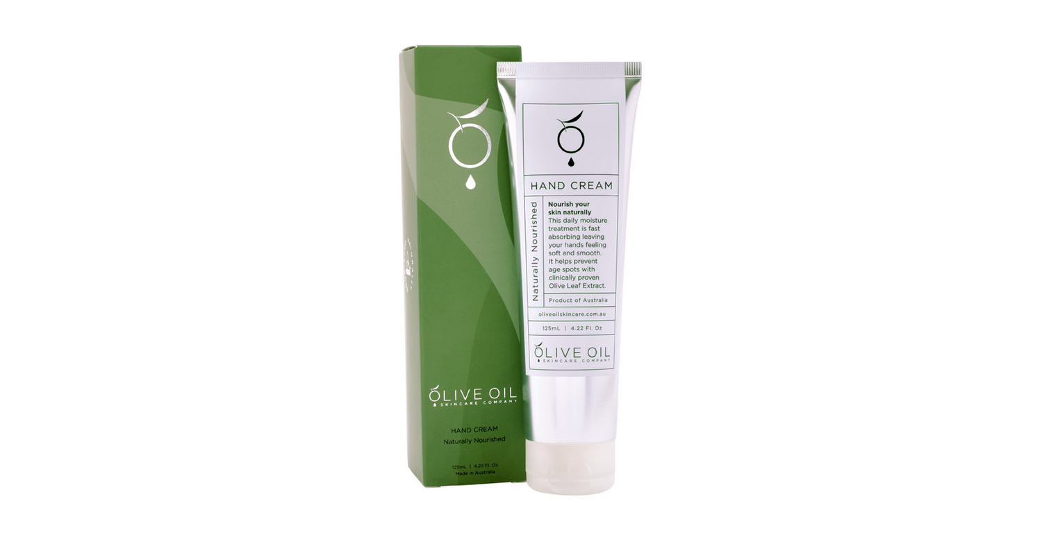 Olive Oil Skincare Company Naturally Nourished Hand Cream