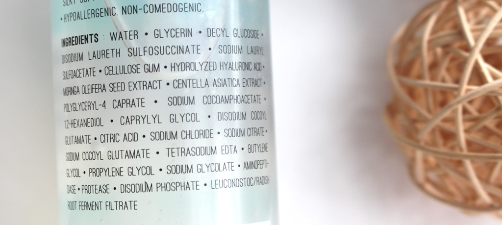 Rovectin Skin Essentials Conditioning Cleanser Ingredients