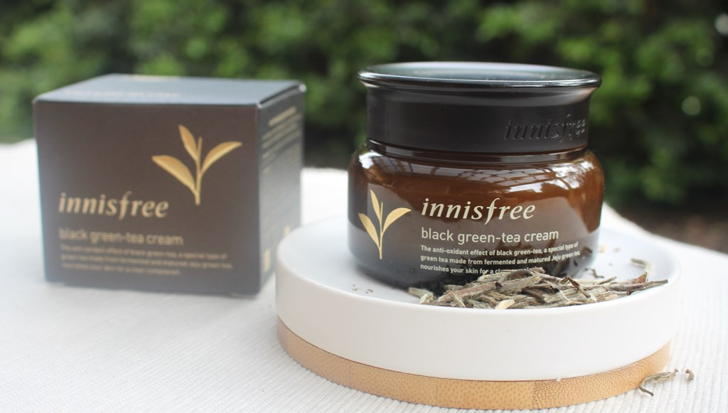 Innisfree Black Green-Tea Cream
