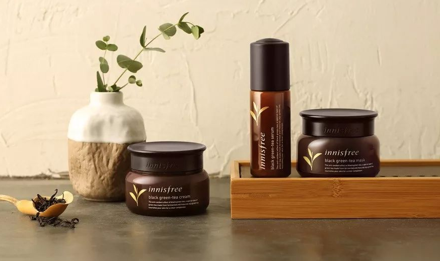 Innisfree Black Green-Tea Range