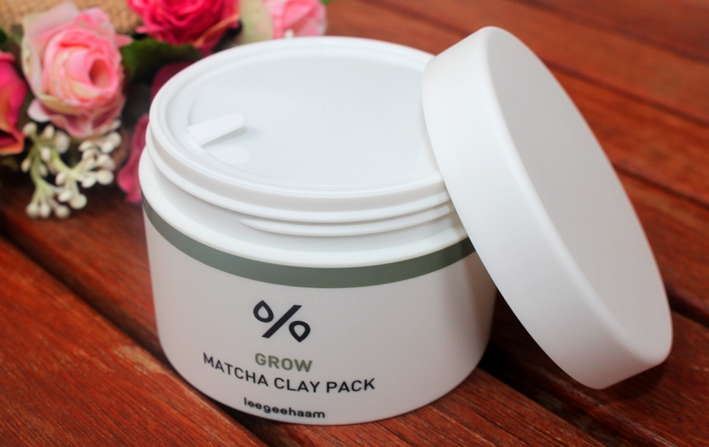 Leegeehaam Grow Matcha Clay Pack Packaging