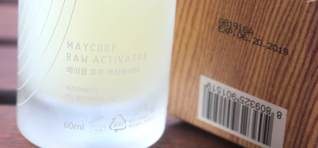 May Coop Raw Activator Expiration