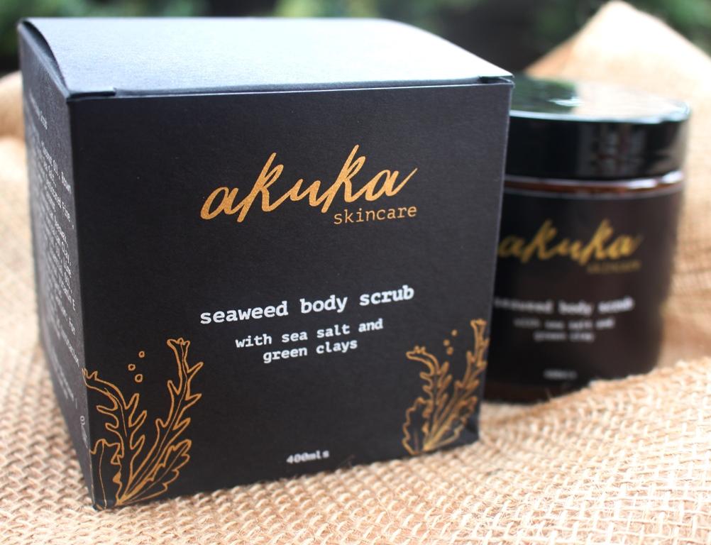Akuka Seaweed Body Scrub