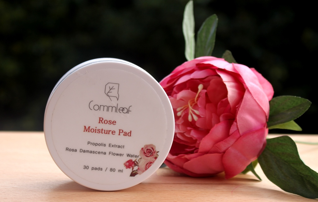 Commleaf Rose Moisture Pad