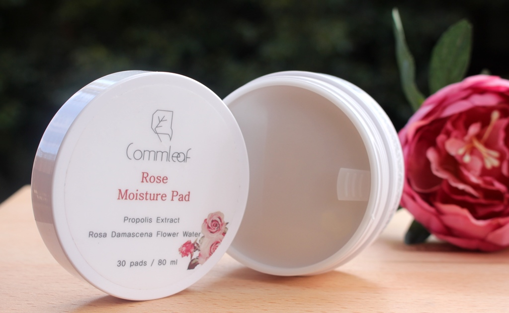 Commleaf Rose Moisture Pad Packaging