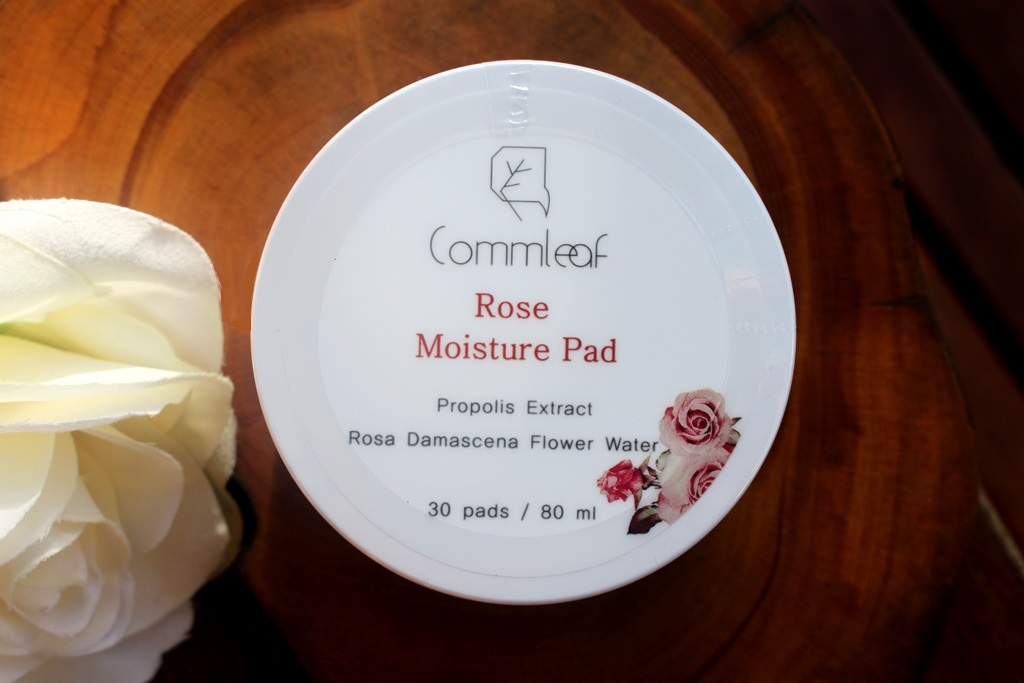 Commleaf Rose Moisture Pad Freshness Seal
