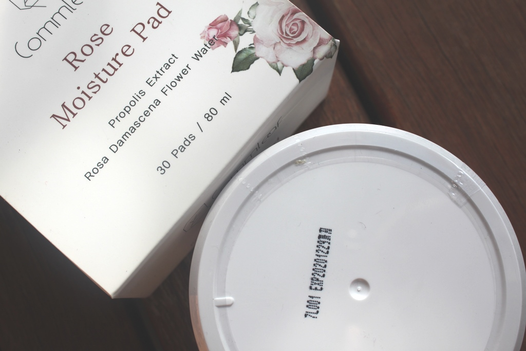 Commleaf Rose Moisture Pad Expiry