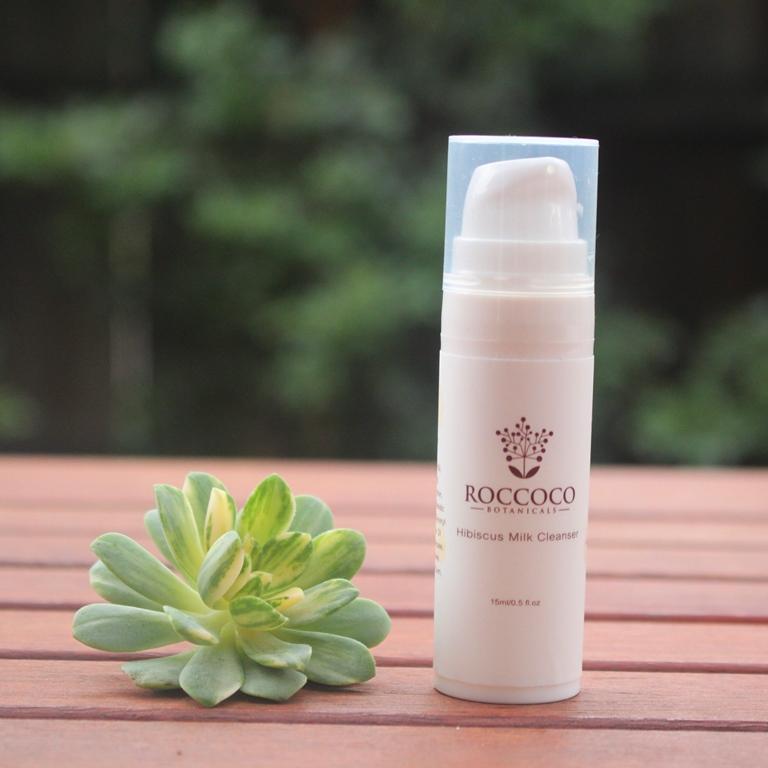 Roccoco Botanicals Hibiscus Milk Cleanser