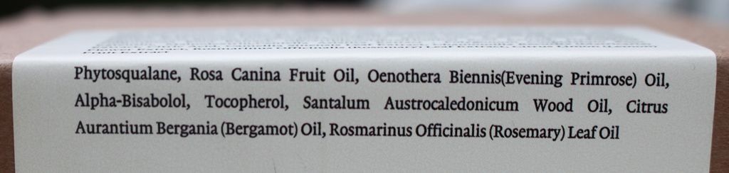 Melixir Squalane Face Oil Ingredients