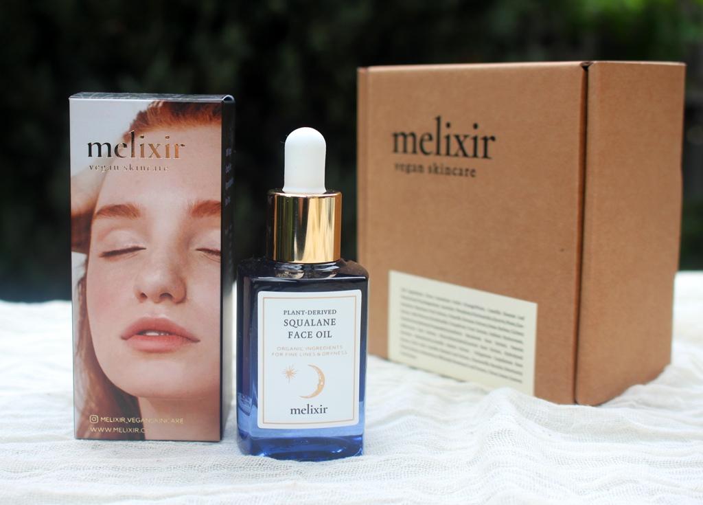 Melixir Squalane Face Oil Presentation
