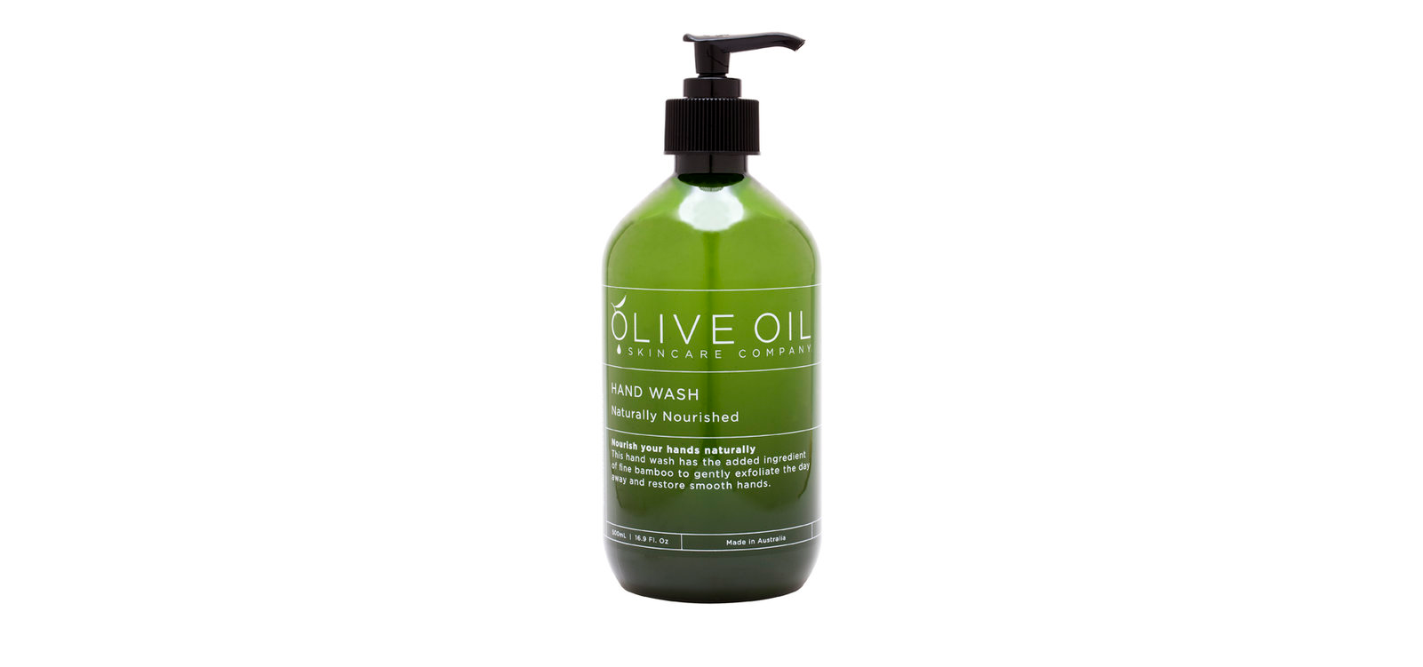 Olive Oil Skincare Company Naturally Nourished Hand Wash