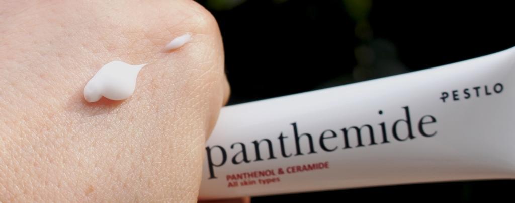 Pestlo Panthemide Face Cream Texture