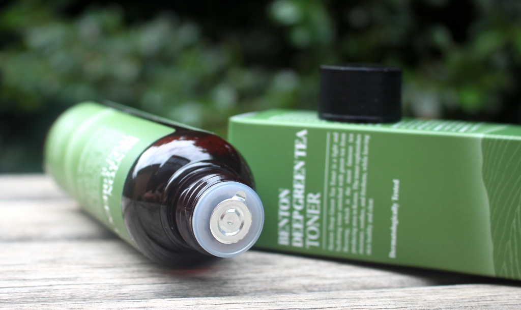 Benton Deep Green Tea Toner Packaging