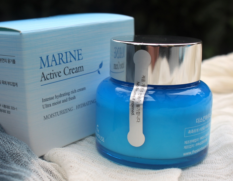 The Skin House Marine Active Cream Presentation