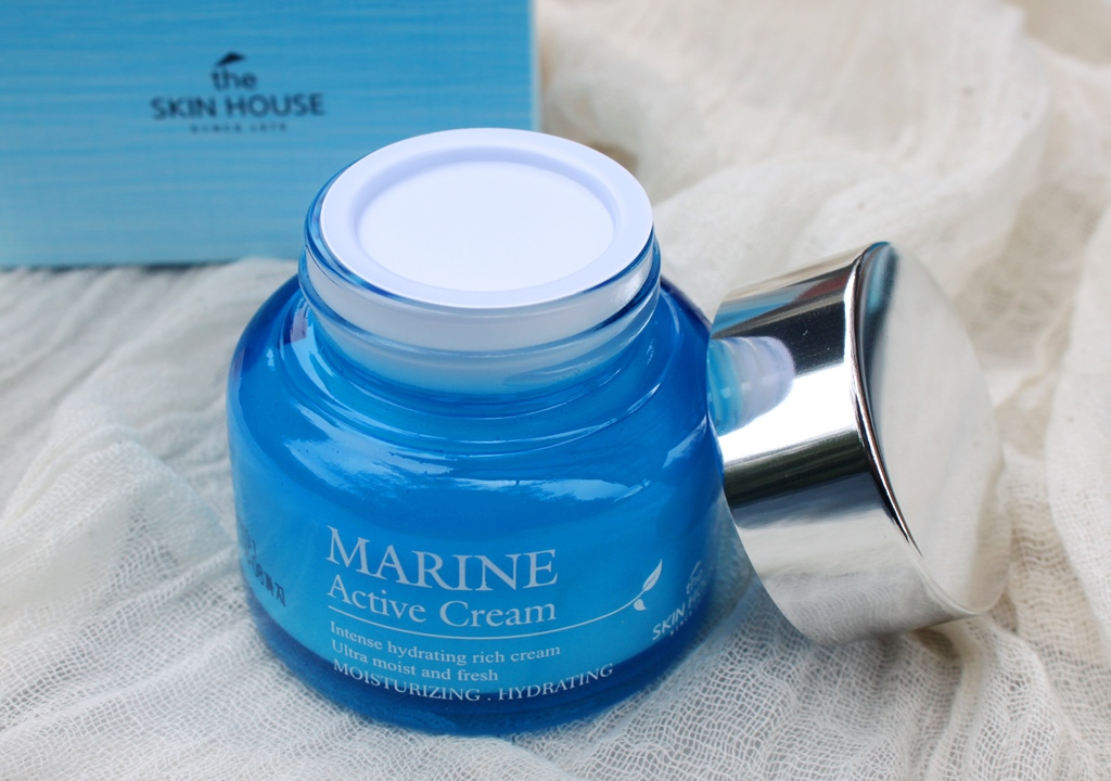 The Skin House Marine Active Cream Packaging