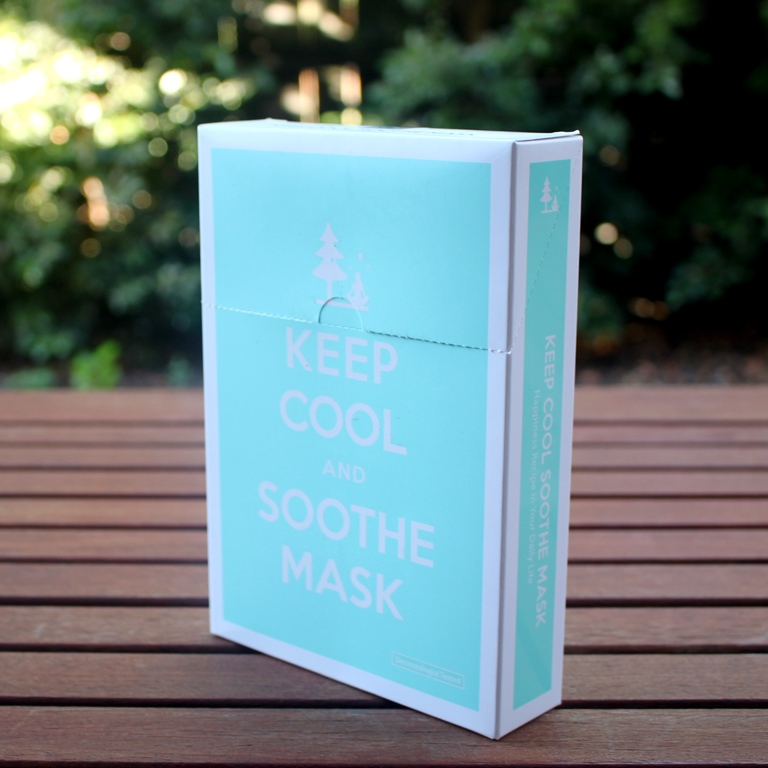 Keep Cool Soothe Intensive Calming Mask Flip Top Box