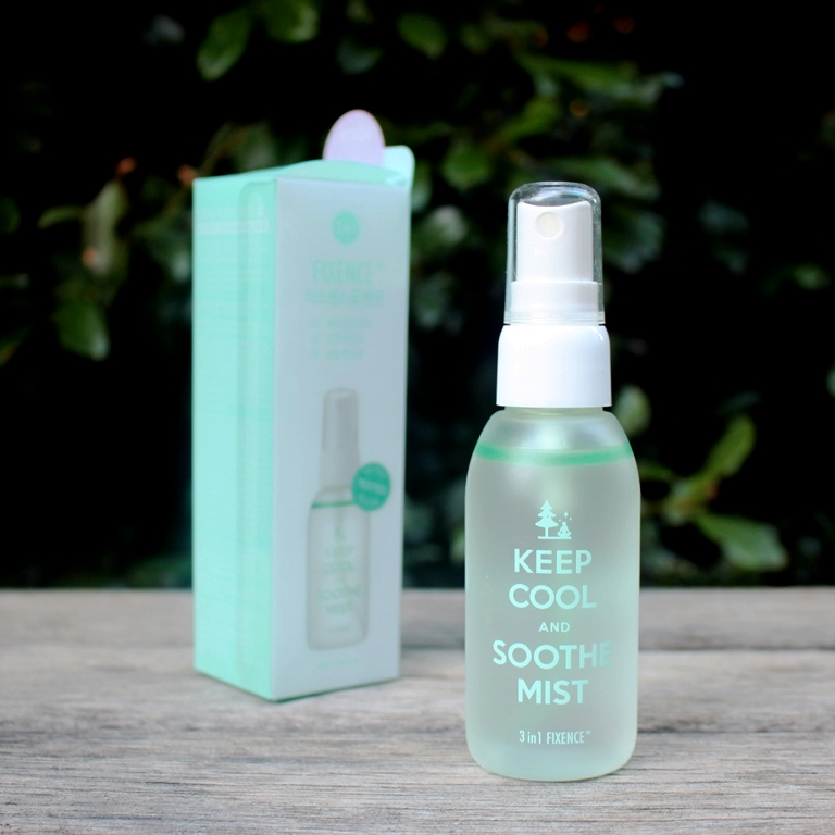 Keep Cool Soothe Fixence Mist Packaging