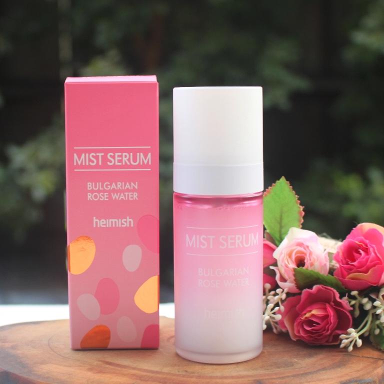 Heimish Bulgarian Rosewater Mist Serum