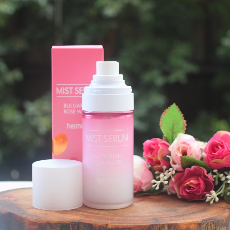 Heimish Bulgarian Rosewater Mist Serum Packaging