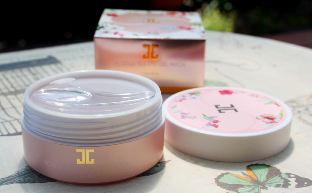 Jayjun Roselle Tea Eye Gel Patches Packaging