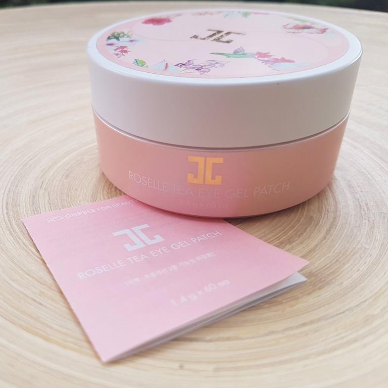 Jayjun Roselle Tea Eye Gel Patches Information Booklet
