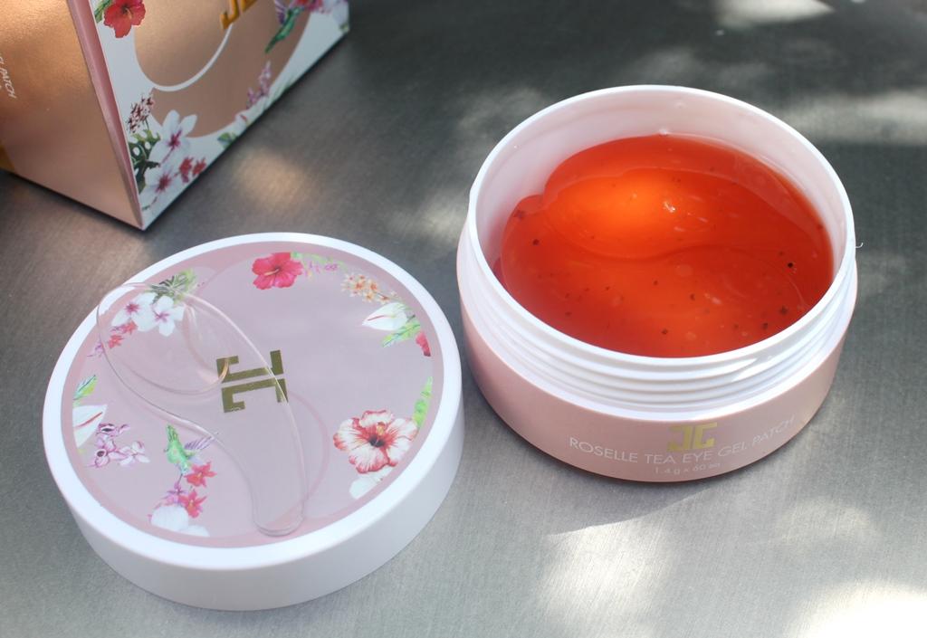 Jayjun Roselle Tea Eye Gel Patches