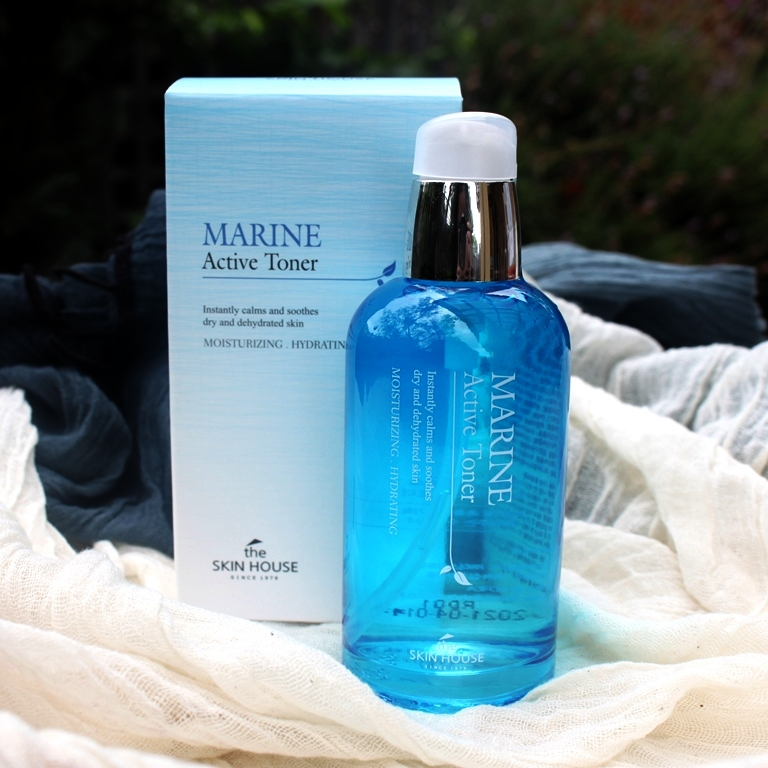 The Skin House Marine Active Toner Packaging