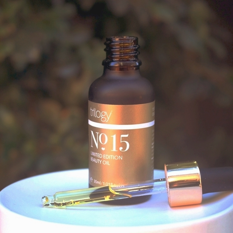 Trilogy No 15 Beauty Oil Packaging