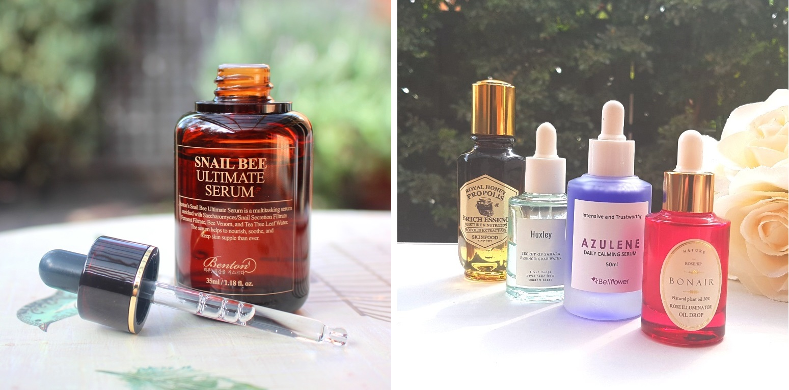 Glass Skin: Serums