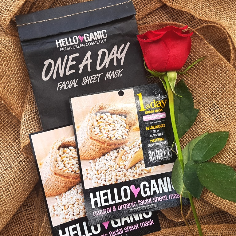 Helloganic One A Day Pore Refining Sheet Mask